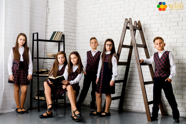 Uniforme școlare în carouri