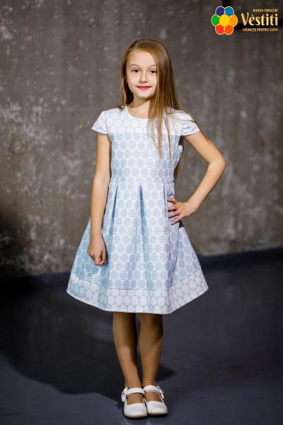 Платье джекард
