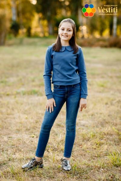 Bодолазка, джинсовый цвет