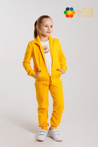Спортивный костюм желтый