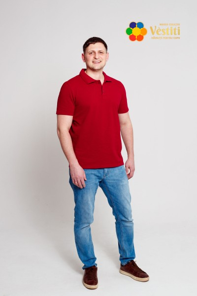 Tricou polo, bordo